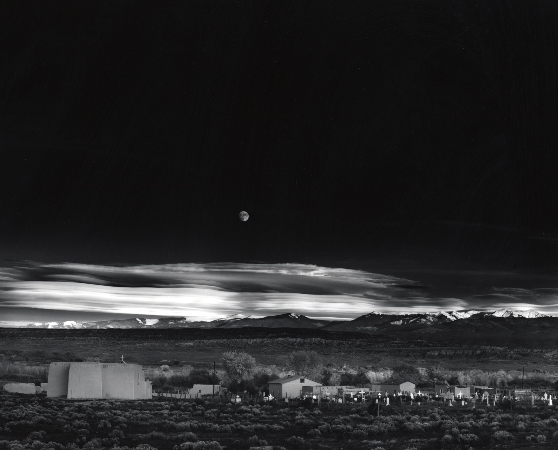 Ansel Adams : Moonrise, Hernandez. Tirage final