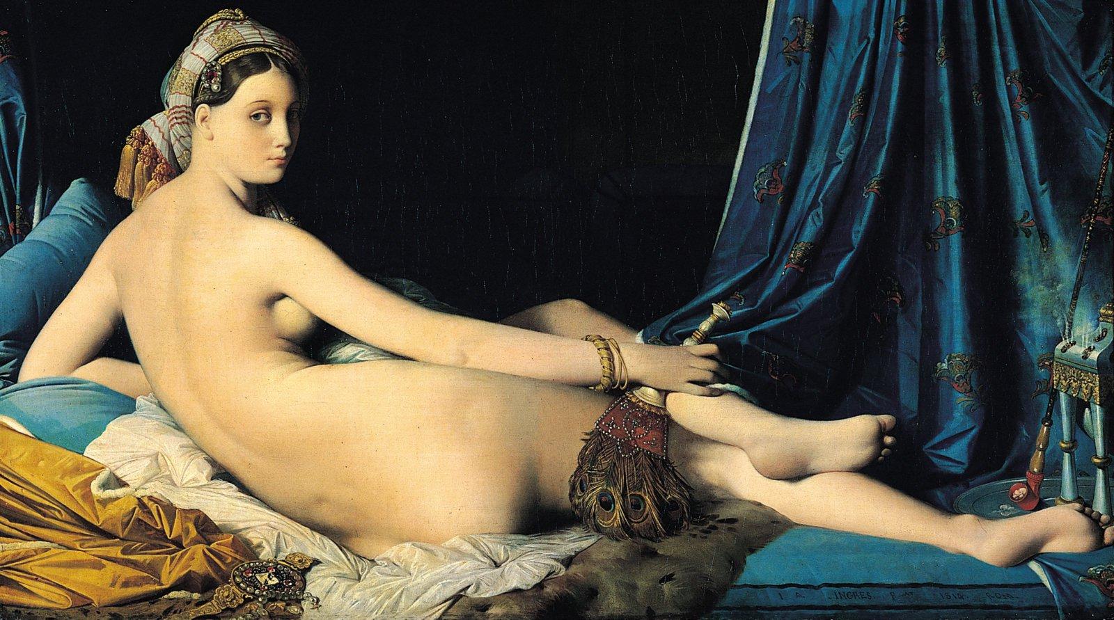 La Grande Odalisque, Ingres (1814)