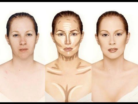 Le contouring en maquillage - crédit: http://www.dieu-crea-la-femme.com/2013/02/27/tout-sur-le-contouring-du-visage/