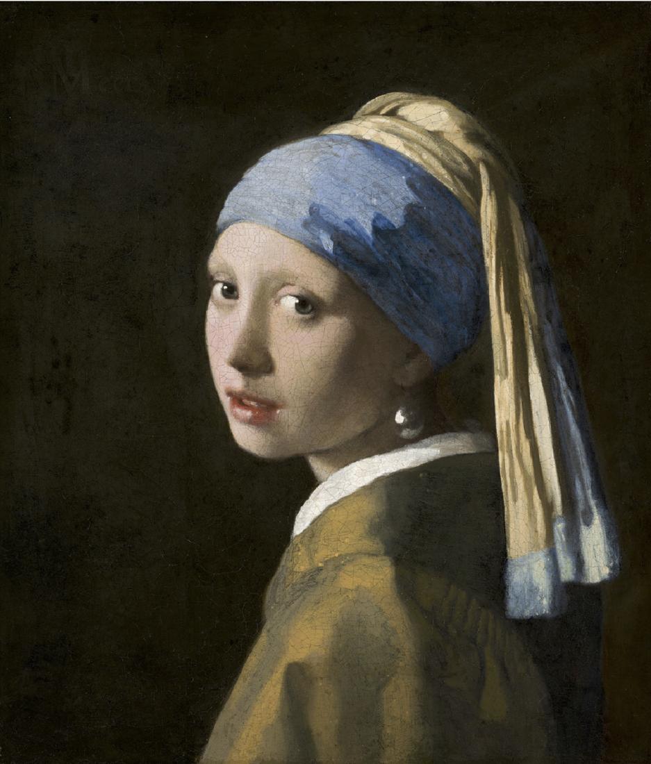 La Jeune fille à la perle, Johannes Vermeer.